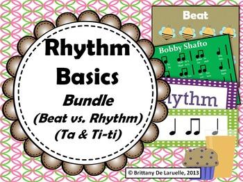 Rhythm Basics MEGA-Bundle - Songs & Activities for beat, r