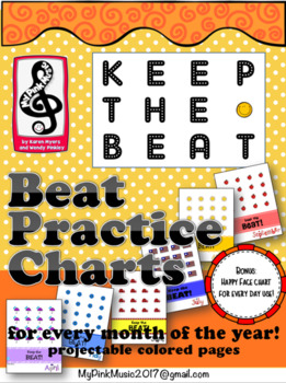 Beat keeping MUSIC charts for ALL YEAR (student & color di