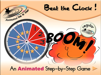 Beat the Clock - Animated Step-by-Step Game - Regular