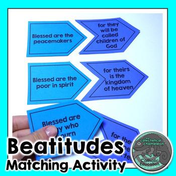 Beatitudes Matching Activity