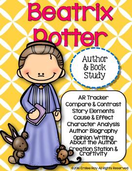 Beatrix Potter Author & Book Study {CCSS}