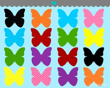 Beautiful Butterfly Clip Art