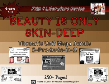 Beauty Is Only Skin-Deep Thematic Unit Short Story, Film,