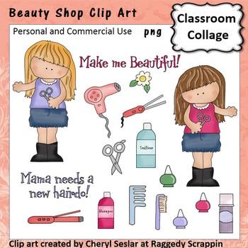 Beauty Shop - Color - pers & comm straightener blow dryer