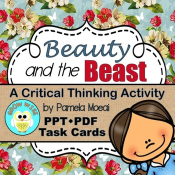 Beauty and the Beast!  A Critical Thinking Activity