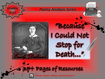 Because I Could Not Stop for Death by Emily Dickinson Poem