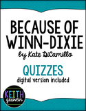 Because of Winn-Dixie (Winn Dixie):  13 Quizzes