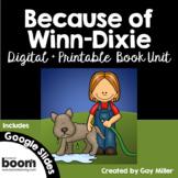 Because of Winn Dixie Book Unit