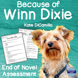 Because of Winn-Dixie End of Book Assessment