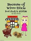 Because of Winn-Dixie Book Study & Activities Packet