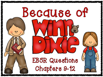 Because of Winn-Dixie Evidence Based Selected Response (EB