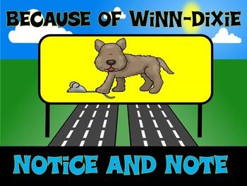 Because of Winn-Dixie Louisiana Guidebooks Lesson 3 Printa
