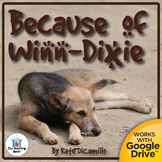 Because of Winn-Dixie Novel Study CD
