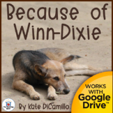 Because of Winn Dixie Novel Study Book Unit