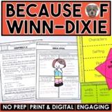 Because of Winn-Dixie MEGA Packet: A Novel Study of the bo
