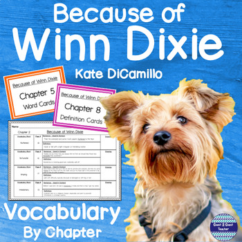 Because of Winn-Dixie Vocabulary Detective