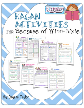 Because of Winn-dixie: Kagan Reading Strategies
