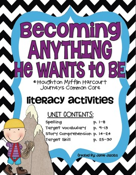 Becoming Anything He Wants to Be (Journeys Supplemental Ma