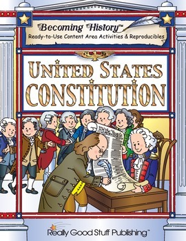 Becoming History™: Primary US Constitution Book