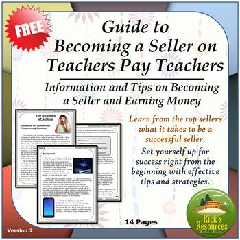 Guide to Becoming a Seller on Teachers Pay Teachers - Tips