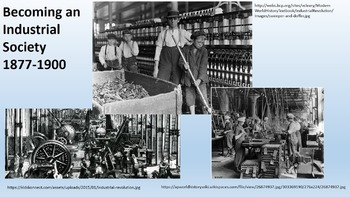 Becoming an Industrial Society 1877-1900 Bundle