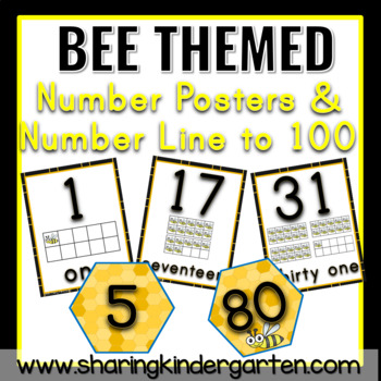 Bee 123s and Number Wall