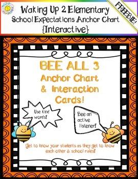 Bee All 3 Anchor Chart Headings~ FREEBIE!!!