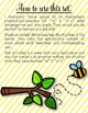 Bee Bee Bumble Bee Coloring/Dictation Page (ta & ti-ti pre