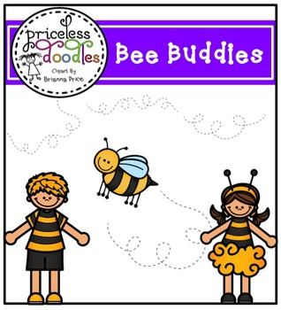 Bee Buddies (The Price of Teaching Clipart Set)
