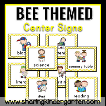 Bee Center Signs