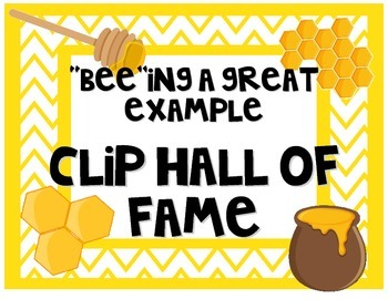 Bee Clip Hall of Fame