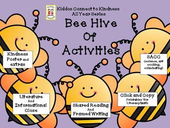 Bee Hive of Activities - Kiddos Connect All Year to Kindne