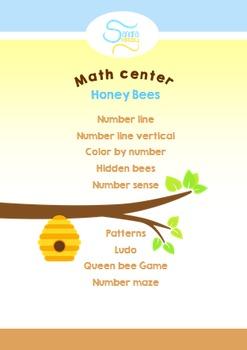 Bee Math center