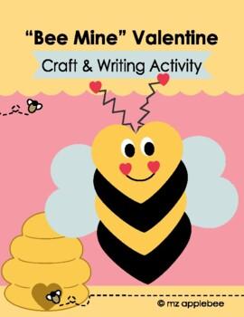 """Bee Mine"" Valentine Craft"