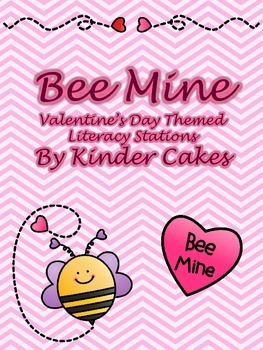 Bee Mine - Valentine's Day Themed Literacy Stations