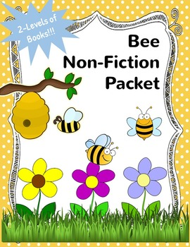 Bee Non-Fiction Packet for Autism and Special Education