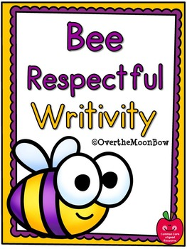 Bee Respectful Writivity Pack