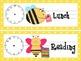 Bee Schedule Cards