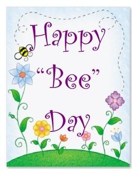 Bee Theme Birthday Bulletin Board