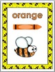 Bee Theme - Color Word Posters