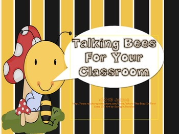 Bee Theme Decorations {Talking Bees}