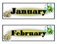 Bee Calendar! Bee Bulletin Board! Bee Theme Decor! Bee Int