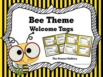 Bee Theme Welcome Tags
