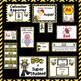 Room Theme ~ Bees   {Editable}