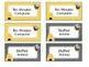Bee Themed Classroom Management Positive Reward Tickets Editable