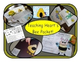 Bee Themed Learning Games, Math, Reading, and Craft Activi