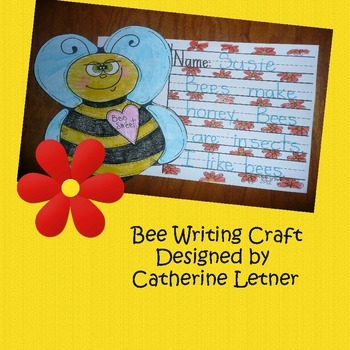 Bee Writing Craft Project