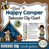 """Bee"" a Happy Camper Behavior Clip Chart"