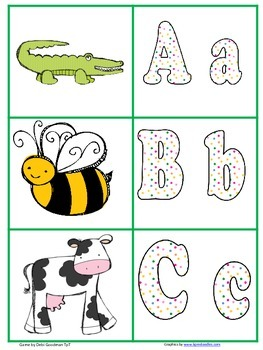 Beebot Initial Sound to Picture Match Cards