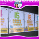 Beehive Classroom Decor Theme - Number Posters